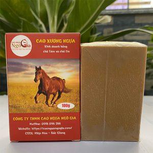 Cao xương ngựa nguyên chất