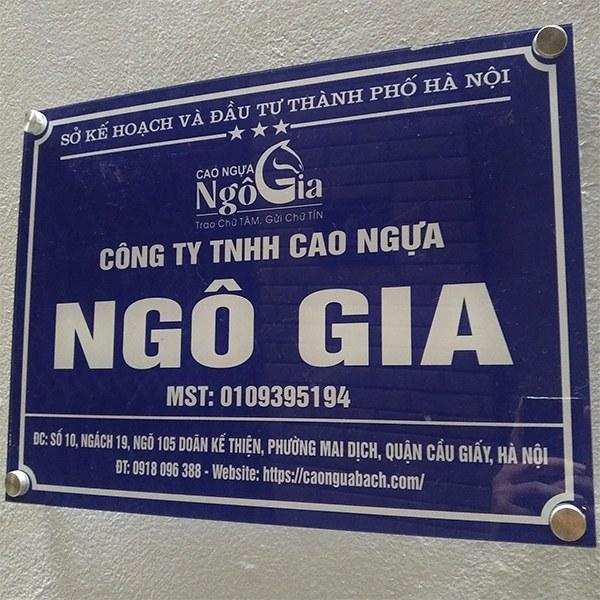 Mua cao ngựa bạch ở Hà Nội