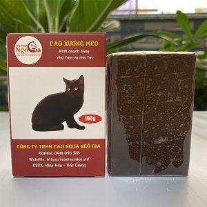 Cao mèo đen giá bao nhiêu
