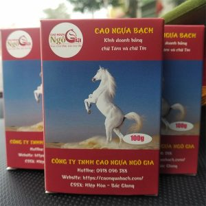 Cao ngựa bạch mắt đỏ