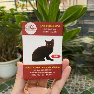Cao mèo đen nguyên chất