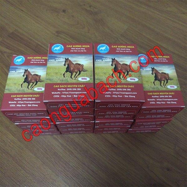 Tác dụng của cao ngựa Mông Cổ