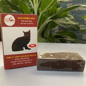 Bán cao mèo đen nguyên chất